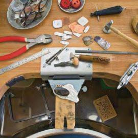 Materiales y herramientas utilizados en la orfebrería